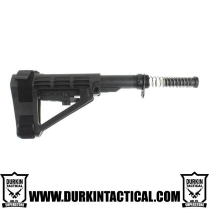 SB Tactical SBA4 Adjustable Pistol Brace + Mil-Spec Buffer Tube Kit
