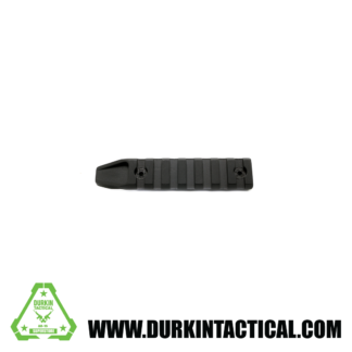 Super Slim 7 Slot M-LOK Rail Section Black Finish