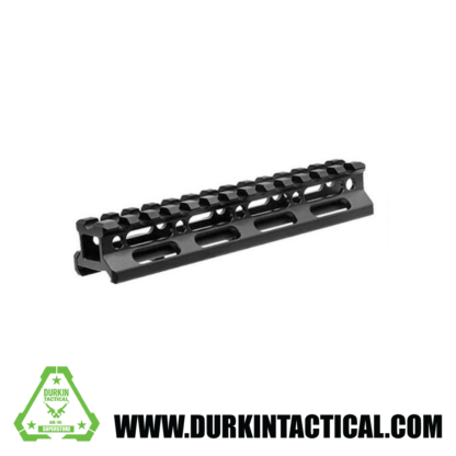 Super Slim .75″ Picatinny Riser Mount 13 Slot Aluminum Black