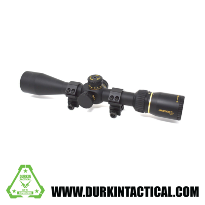 SNIPER VT3-9X40FPSA First Focal Plane (FFP) Rifle Scope with Mil-Dot Reticle
