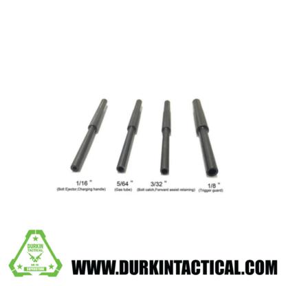 4pc Roll Pin Punch Starter Set