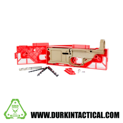 Polymer80, 308 80% Lower Receiver and Jig System - Flat Dark Earth