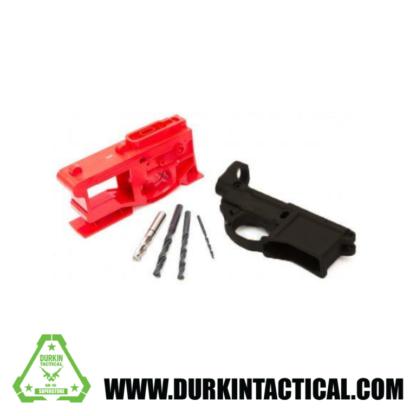 Polymer80 AR-15 Rhino 80% Lower - Complete Kit - Black