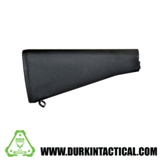 A2 Style AR-15 Fixed Stock, Black
