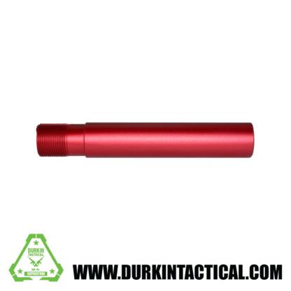 "AR-15 Pistol Buffer Tube, 7.3"" Red Anodized"