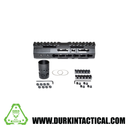 "7"" MKARA7 KeyMod Handguard with Partial Top Rail, Aluminum Barrel Nut, AR-15 223/5.56"