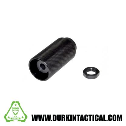 "1/2""x28 Muzzle Brake for AR-15 plus Sound Redirect 13/16 X 16 threaded Sleeve, Steel/Aluminum, Black"