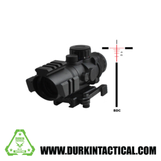SNIPER PM4X32TB Tri Rail Scope