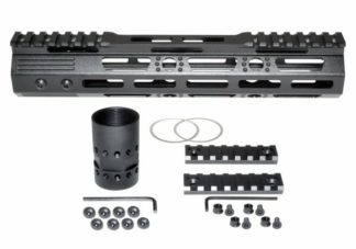 10 MMARZ10 M-LOK Handguard with Partial Top Rail, 10 AR-15 223:5.56.