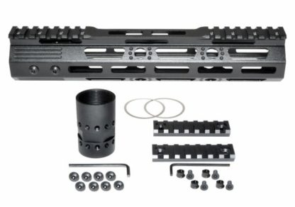 10 MMARZ10 M-LOK Handguard with Partial Top Rail, 10 AR-15 223:5.56.