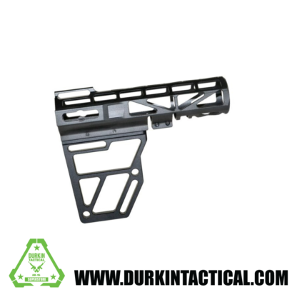 Skeletonized AR Pistol Brace - BLACK