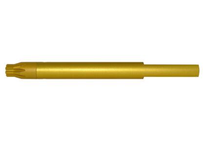 """308 Barrel Vise Block Rod for .936"""" - AR-10 LR-308, Gold"""