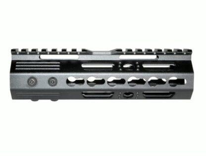 7 MKARA7 KeyMod Handguard with Partial Top Rail, Aluminum Barrel Nut, AR-15 223:5.56