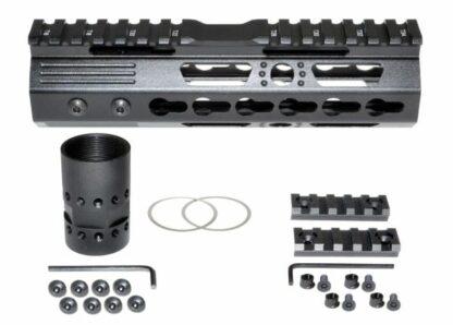 7 MKARA7 KeyMod Handguard with Partial Top Rail, Aluminum Barrel Nut, AR-15 223:5.56.