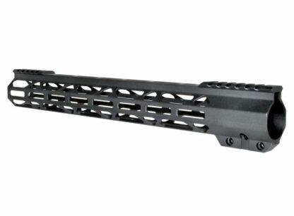 "AR15 Free Float 15"" M-LOK Handguard, ID 1.36"""