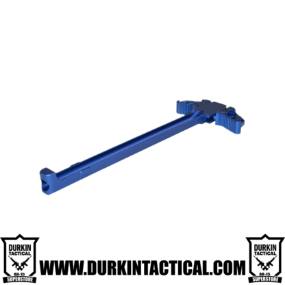 Gen 3 AR-15 Ambidextrous Charging Handle, Blue