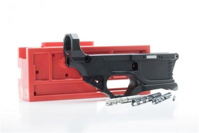 Polymer 80 AR15 RL556 Version 3 80% Lower - Complete Kit - Black