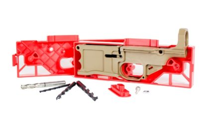 Polymer80, 308 80% Lower Receiver and Jig System - Flat Dark Earth Whole