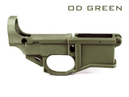 Polymer80 G150 80% Lower with Jig System - OD Green