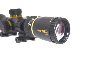 SNIPER VT3-9X40FPSA First Focal Plane (FFP) Rifle Scope with Mil-Dot Reticle Lens