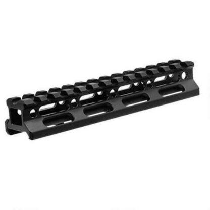 Super Slim .75 Picatinny Riser Mount 13 Slot Aluminum BlackSuper Slim .75 Picatinny Riser Mount 13 Slot Aluminum Black