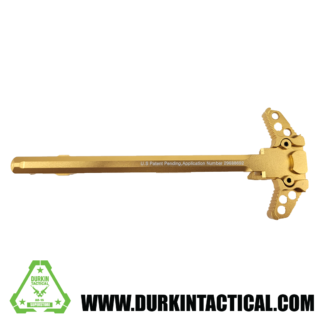 Gen 3 AR-15 Ambidextrous Charging Handle, Gold
