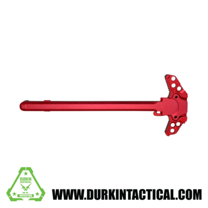 Gen 3 AR-15 Ambidextrous Charging Handle, Red