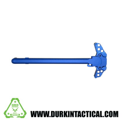Gen 3 AR-15 Ambidextrous Charging Handle, Blue