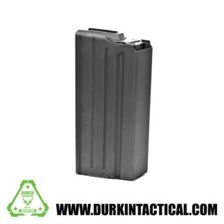 ASC LR-308 7.62 SR-25 Mag 20 Round Stainless Steel Black