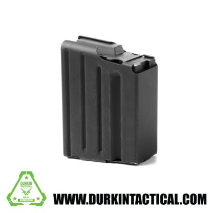 ASC LR-308 7.62 SR-25 Magazine 10 Round Stainless Steel Black