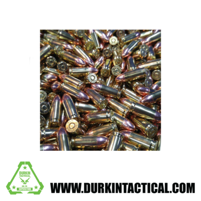 500 rounds 9mm 115gr