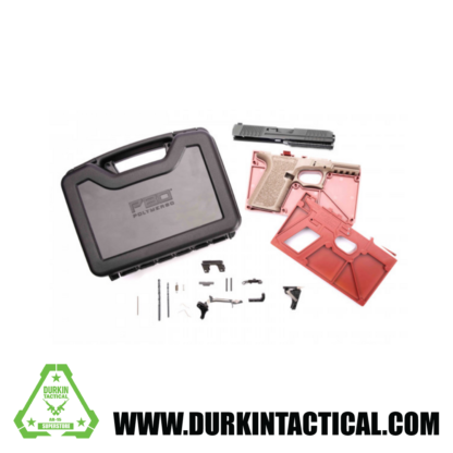 POLYMER 80 PF940C BUY BUILD SHOOT KIT, FLAT DARK EARTH