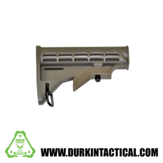 Mil-Spec Adjustable Stock w/ Sling Adapter, Green