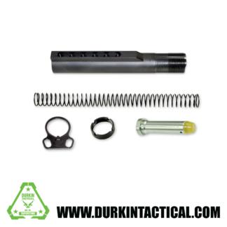 AR-15 Mil Spec Buffer Tube Kit w/ Dual Sling End Plate
