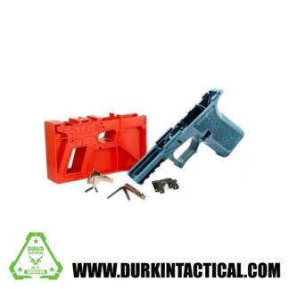 PF940C 80% Compact Polymer Pistol Frame Kit (Blue Titanium)
