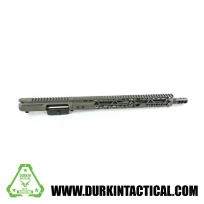 """16"""" 5.56/.223 Alligator Green Upper / Build Kit"""