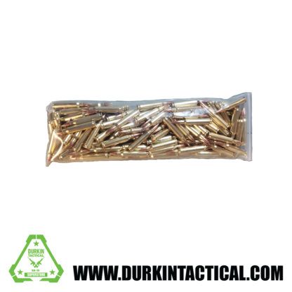 100 round bulk bag .223 M855 62gr Penetrator Ammo