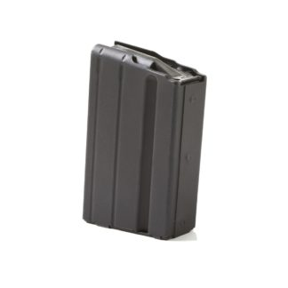 ASC LR-308 7.62 SR-25 Mag 5 Round Stainless Steel Black
