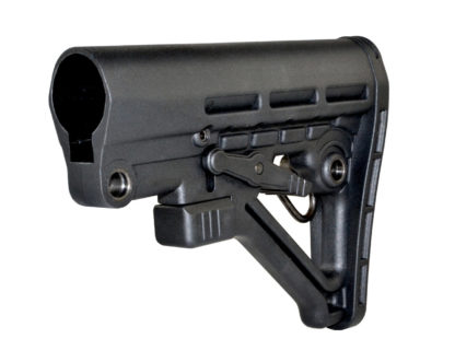 Mil-Spec Adjustable Stock w: QR Sling Adapter Angle