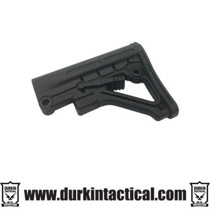 Mil-Spec Adjustable Stock with QR Sling Adapter - Black