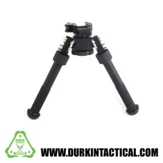"QD Tactical Bipod Flat with Adjustable Legs 6.5 - 9"""