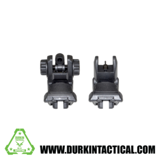 Gen2 Black Tactical Smart Polymer Front/Rear Combo Set – Picatinny/Weaver