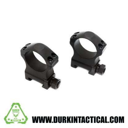 "30mm Tactical Scope Rings Medium 1.25"" Height"