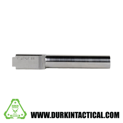 9mm Glock 19 Replacement Barrel | Stainless Steel Finish | UNTHREADED | UNBRANDED