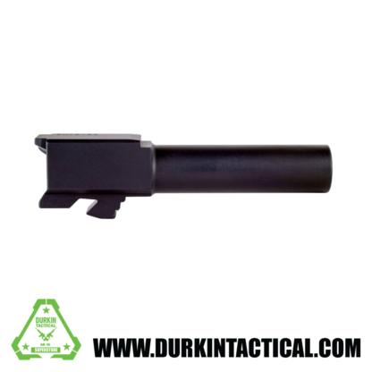 9mm Glock 26 Replacement Barrel | Black Nitride Finish | UNBRANDED | UNTHREADED