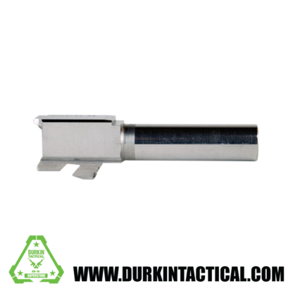 9MM Glock 26 Replacement Barrel | Stainless Steel | UNTHREADED / UNBRANDED