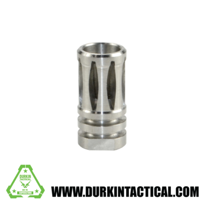 """5/8""""x24 A2 Flash Hider for .308, Stainless Steel"""
