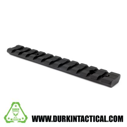Ruger 10/22 Rifle Black Aluminum Scope Base Mount Adapter Weaver/Picatinny 11 Slot