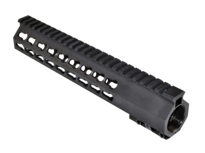 10 Super Slim Free Float Handguard - Keymod for Model M4:16 or AR15 Angle