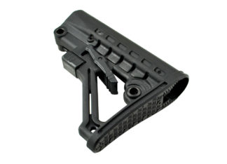 Commercial Adjustable Stock w: QR Sling Adapter, Black Side